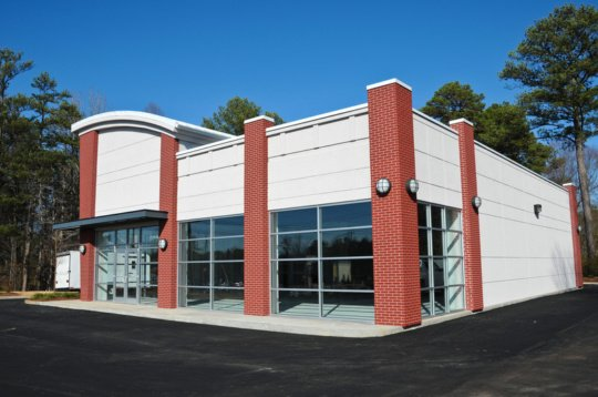 White Commercial Painting Exterior 540x358